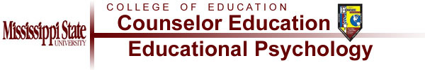 Department of Counselor  Education Logo